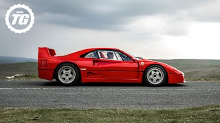 FERRARI F40 vs JAGUAR XJ220: Which is the ultimate 200mph pioneer? | Top Gear: Series 29