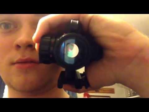 Don't buy the BSA laser/Reddot scope