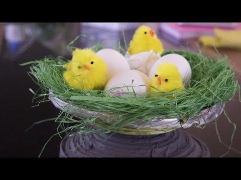 diy-tutorial-craft-bird-nest-newspaper-colorful-|hd|new|diy