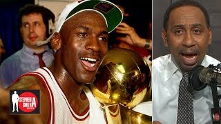 No disrespect to LeBron but Michael Jordan is the GOAT – Stephen A. | Stephen A. Smith Show