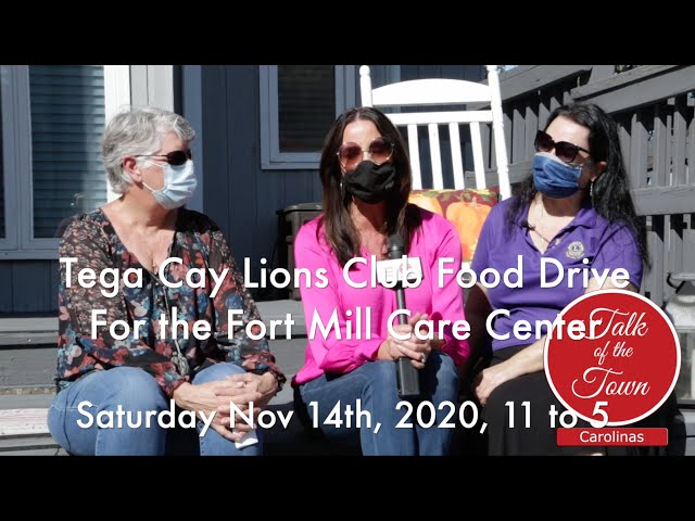 Tega Cay Lions Club Food Drive