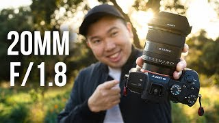 Sony 20mm f/1.8 - What YOU Need To Know! | Ultra Wide Angle Lens for a7 III a7R IV a7S II a9