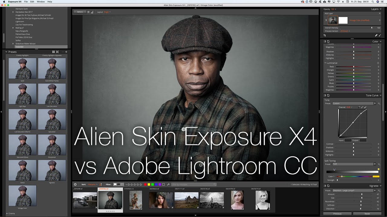 exposure x3 vs capture one