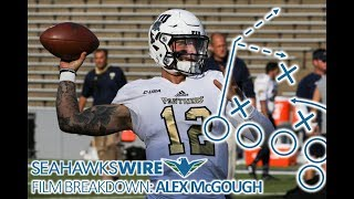 Film Breakdown: Alex McGough fits as ideal backup QB for Seahawks