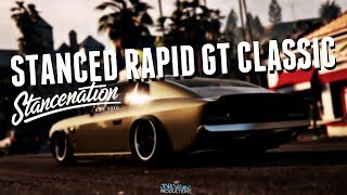 STANCED RAPID GT CLASSIC | GTA Online | Stance Nation | Smugglers Run DLC | XB1 Rockstar Editor