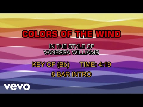 Colors of the wind (karaoke) youtube.