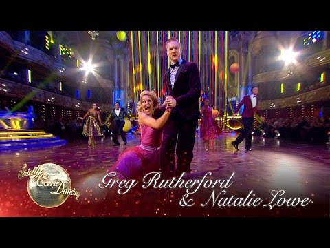 Greg Rutherford & Natalie Lowe Quickstep To 'Hand Jive' By Sha Na Na - Strictly 2016: Blackpool