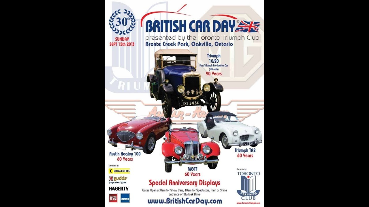 British Car Day Bronte