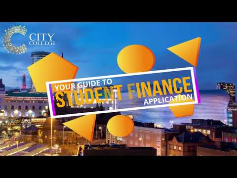 Student Finance Application Guide City College Limited