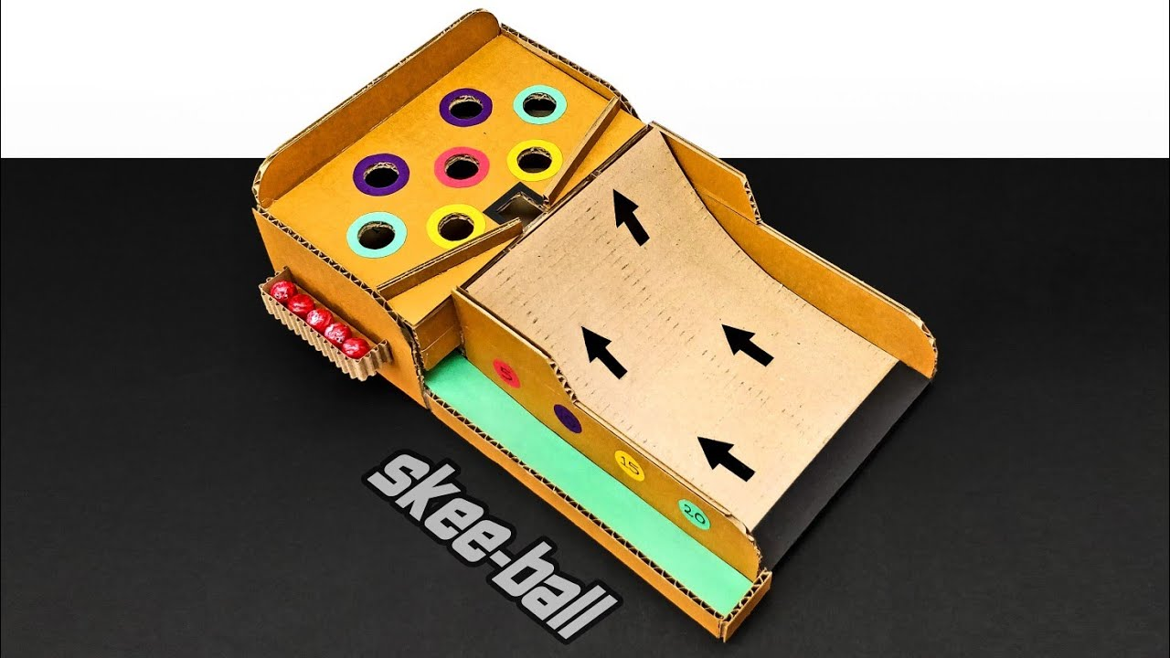 Homemade Skeeball Game : 19 Steps (with Pictures ...