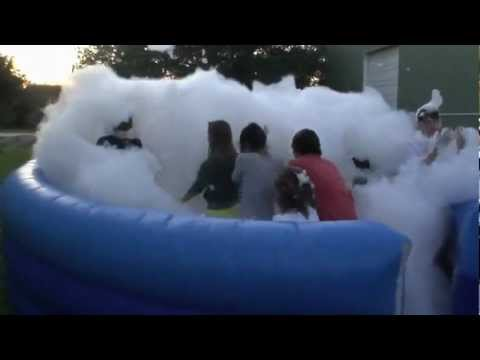 Foam Birthday Party For Kids Teens And Adults