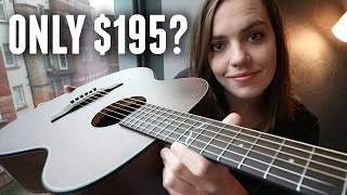 This Acoustic Guitar Costs $195 but sounds BEAUTIFUL