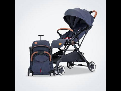 Mamaland Aimile Traveller Compact Fold Pullable Newborn Cabin Size Baby Stroller