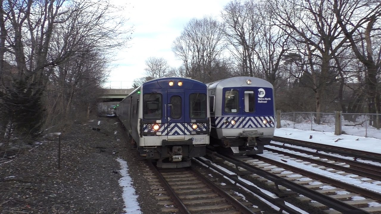 metro-north railroad hd 60fps: 8 straight minutes of rush hour