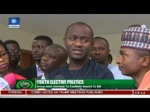 Youth Elective Politics Group Asks Osinbajo To Facilitate Assent To Bill