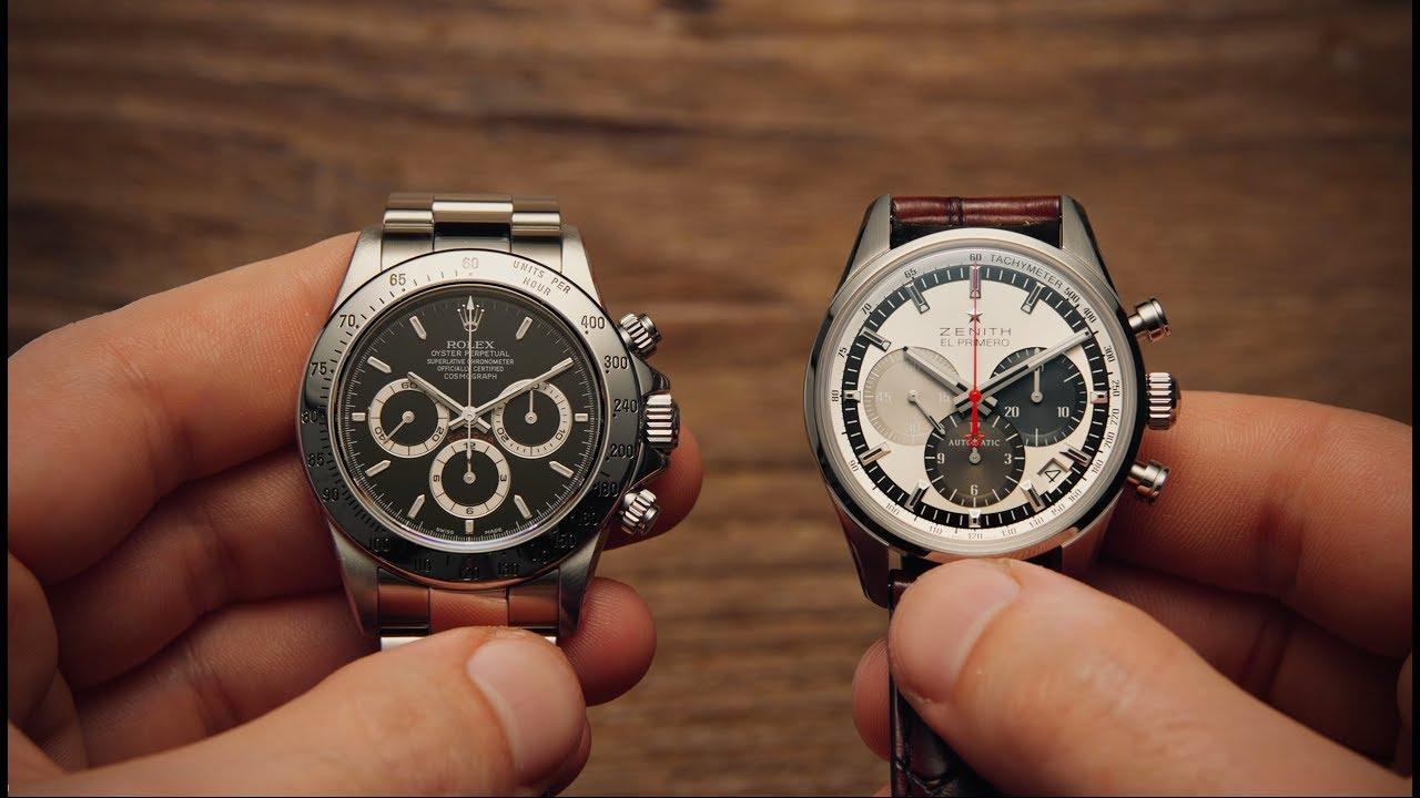 5c032757885 Rolex Daytona vs Zenith El Primero | Watchfinder & Co. - YouTube