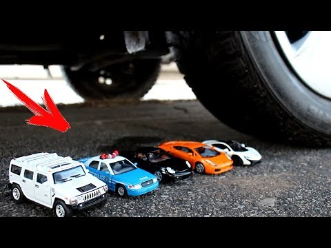 EXPERIMENT: CAR VS Cars and Toys