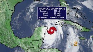 Hurricane Warnings Issued For Gulf Coast