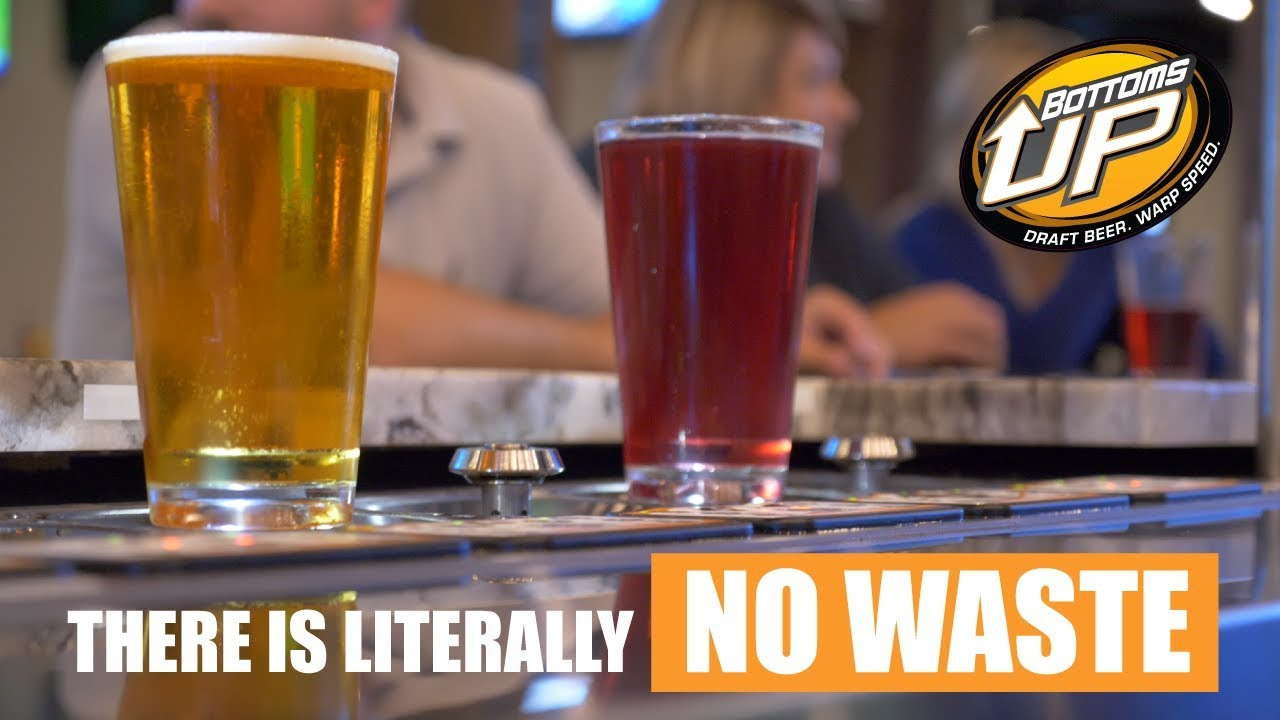 There Is Literally No Wasted Beer -  Jammer's Bottoms Up Testimonial