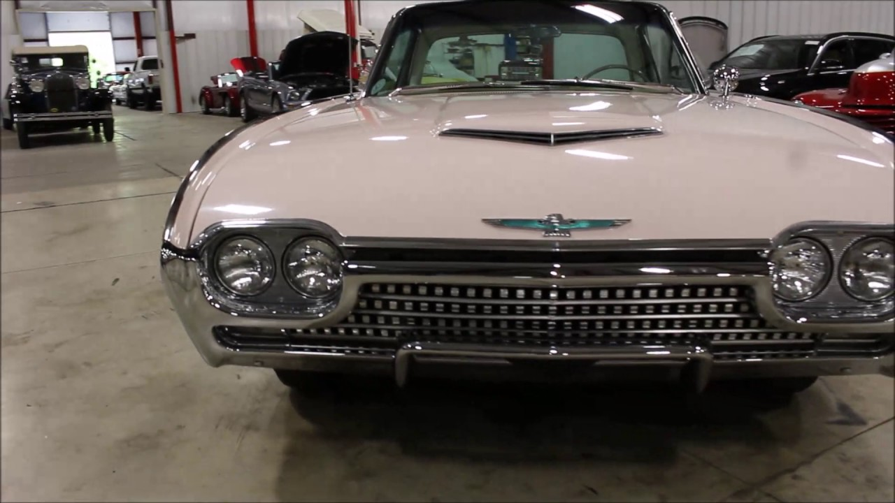 1962 Ford Thunderbird Pink