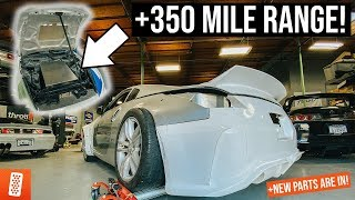 Download World's FIRST Tesla Swapped Liberty Walk Nissan 350Z - Part 6 Mp3 and Videos