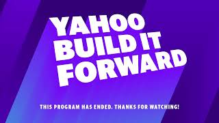 Yahoo Build It Forward