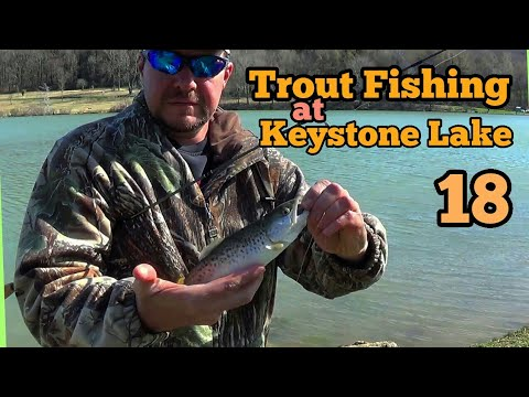 Trout Fishing at Keystone Lake 18