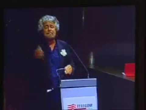 BeppeGrillo - Assemblea Telecom 16-4-2007 - INTEGRALE1