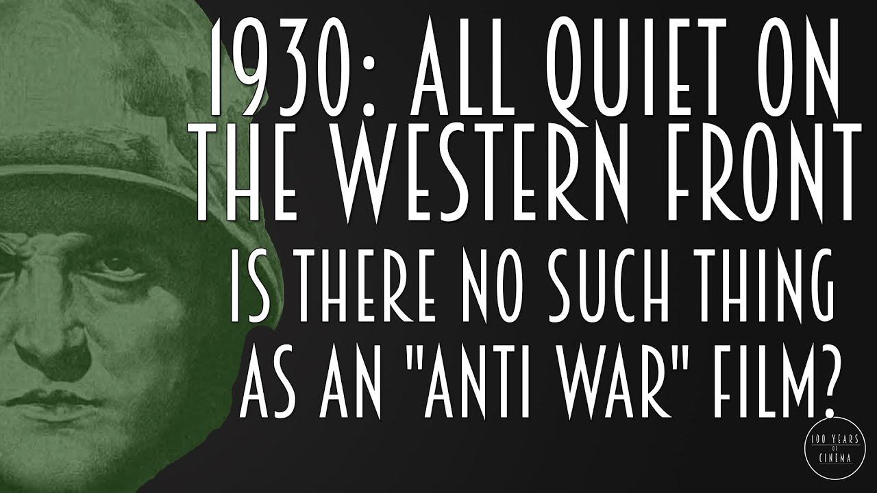 All Quiet On The Western Front  Is There No Such Thing As An   All Quiet On The Western Front  Is There No Such Thing As An  Antiwar Film Environmental Science Essay also Los Angeles Business Plan Writers  Is Psychology A Science Essay