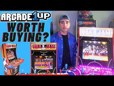 IS ARCADE1UP NBA JAM WORTH PURCHASING HONEST THOUGHTS from Brick Rod