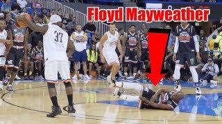 Bone Collector Breaks Floyd Mayweather's Ankles (Insane Ankle Break)