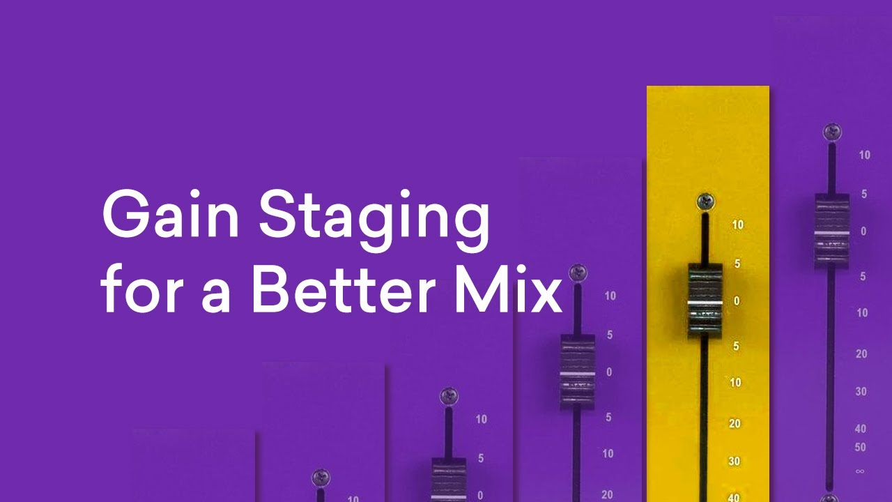 Gain Staging: How to Get Healthy Levels for a Better Mix