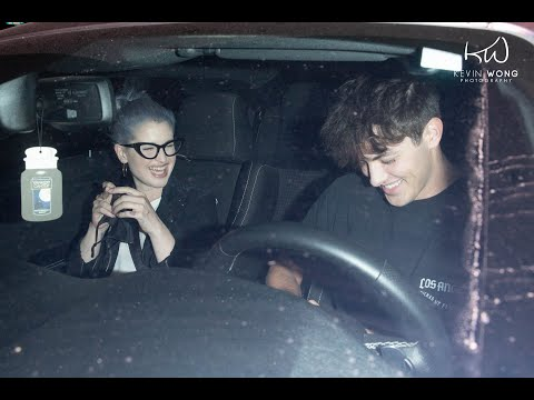 Dixie D'Amelio Ex BF, Griffin Johnson & Kelly Osbourne Leaves Dinner Together after a romantic night