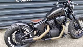 Honda Shadow bobber build vlx 600