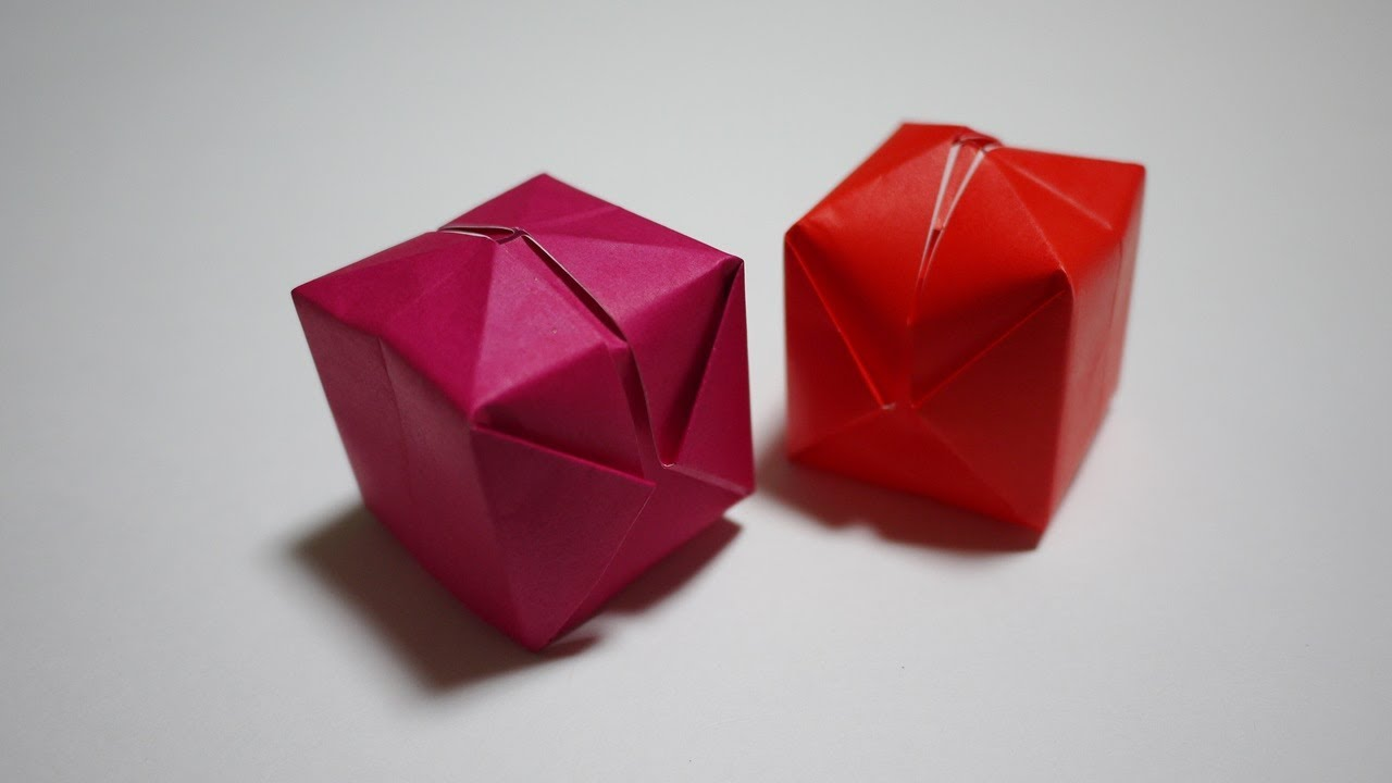 すべての折り紙 折り紙 マジックボール 折り方 : 風船の折り方 - How to make an ...