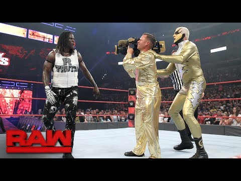"Thumbnail: Goldust debuts ""The Shattered Truth"" in Hollywood: Raw, June 26, 2017"