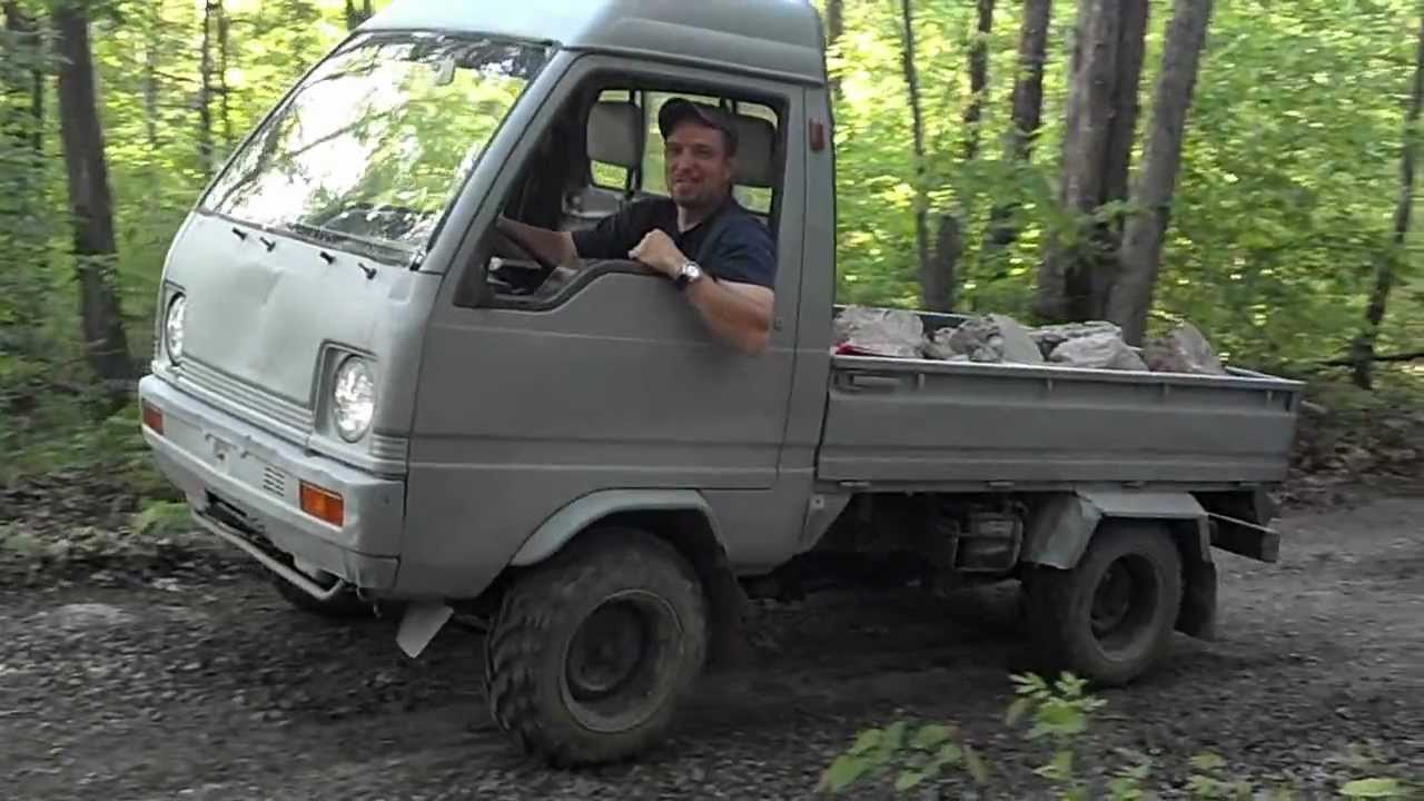 "MITSUBISHI MINI TRUCK ""WHEELIE"" - YouTube"