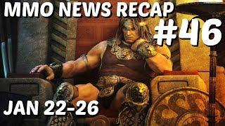 MMO Weekly News Recap #46   January 22-26