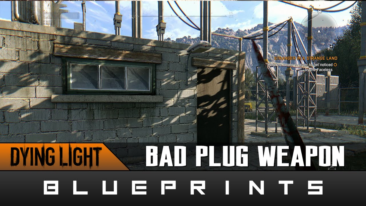 Dying light the following bad plug weapon blueprint location dying light the following bad plug weapon blueprint location guide youtube malvernweather Choice Image