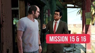 Grand Theft Auto V - Mission 15: Trevor Philips Industries & Mission 16: Nervous Ron [PS4 Pro]