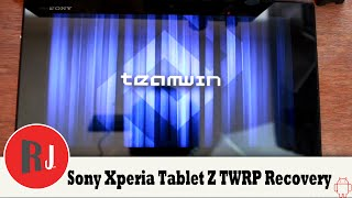 Sony Xperia Tablet Z Dual Boot TWRP & Phils Recovery