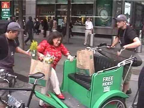 Manhattan Rickshaw Company gig for Whole Foods