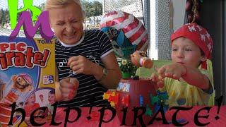 пират из бочки!Занимательная настольная игра для детей и взрослых.Pop-up pirate!(Марк играет в весёлую настольную игру! Поиграем вместе?!?, 2016-08-25T18:56:55.000Z)