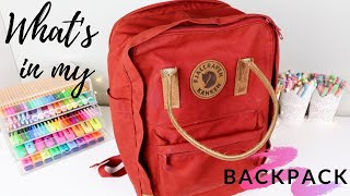 What's in my backpack 2019 🎒back to school