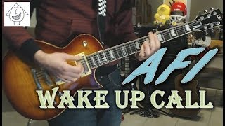 AFI - Wake Up Call - Guitar Cover (Tab in description!)
