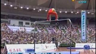 2.奧運金牌選手大匯演(單槓-鄒凱)