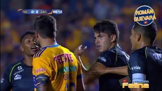 Tigres vs Zacatepec 1-3 Copa Mx Apertura 2017 HD