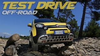 Fiat Panda Cross: Off-Road Test Drive