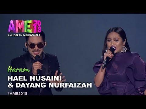 #AME2018 I Persembahan Eksklusif Hael Husaini & Dayang Nurfaizah | Haram