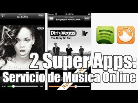 2 Super Apps: Servicio de Musica Online!!! MAA